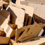 A Picture Of Cardboard Recycling Services In Ashland, MA - B-P Trucking Inc