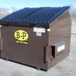 A dumpster rental from B-P Trucking, Inc. in Ashland, MA