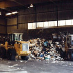 A transfer station for waste removal services from B-P Trucking, Inc. in Ashland, MA