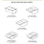 Rear Load Container Specifications