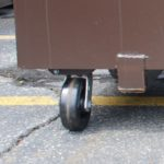Wheel options for 2-yard front-load containers in Ashland, MA