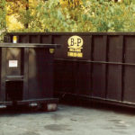 Several open top containers for waste removal services from B-P Trucking, Inc. in Ashland, MA