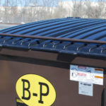 Automatic Lock Bar Front Load Containers