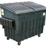 2 or 4 yard plastic container by B-P Trucking Inc