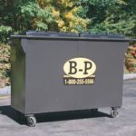 2 yard rear load container by B-P Trucking Inc