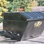8 yard waste front load container