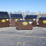 Front Load waste container in Ashland, MA